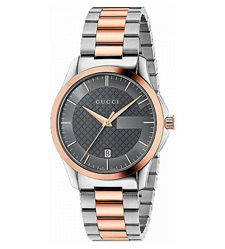 GUCCI YA126527 G Timeless watch