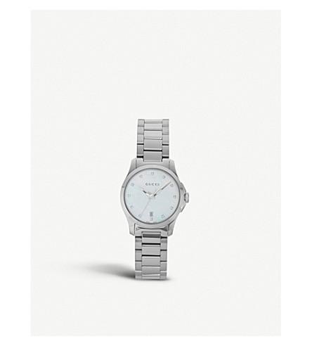 GUCCI YA126542 珍珠妈妈永恒的手表