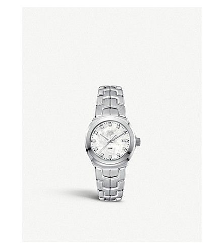 TAG HEUER WBC1312.BA0600 Link stainless steel watch