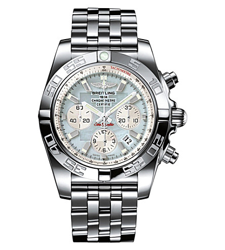 BREITLING AB011053|G686|375A Chronomat 44 stainless steel watch