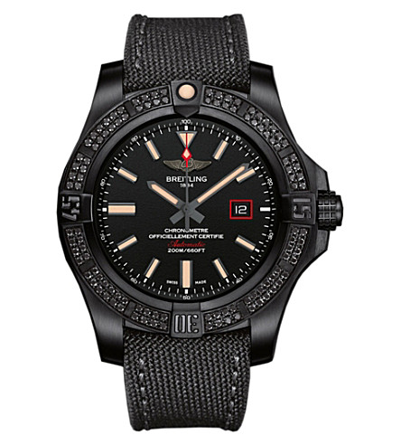BREITLING V17311AT|BD74|109W+M20BASA.1 Avenger Blackbird 44 titanium watch