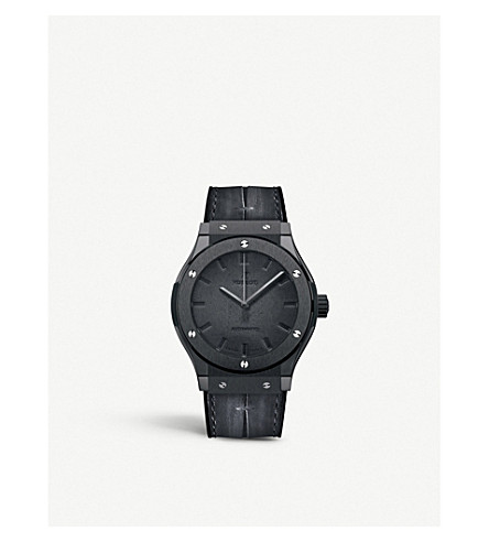 HUBLOT 511.CM.0500.VR.BER16 Classic Fusion Berluti All Black Watch