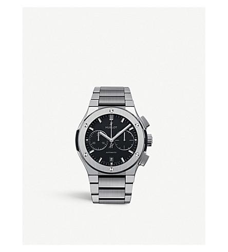 HUBLOT 520.nx.1170.nx classic fusion chronograph titanium bracelet watch