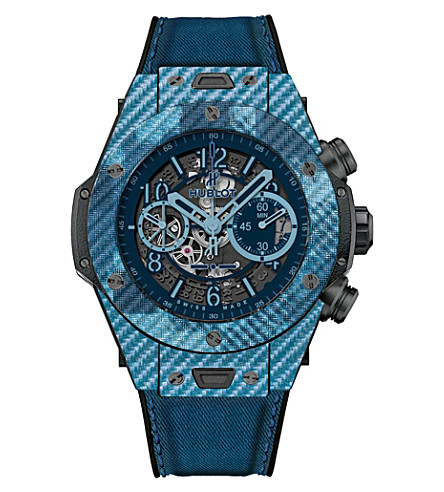 HUBLOT 411.yl.5190.nr.iti16 camo blue watch