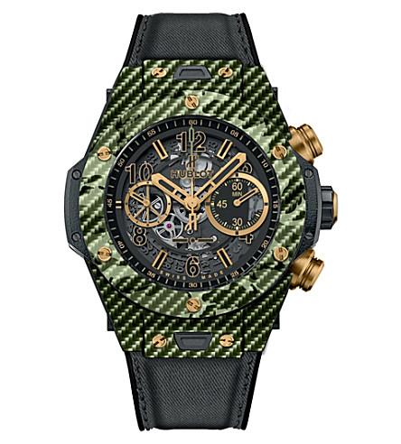HUBLOT 411.yg.1198.nr.iti16 camo green watch