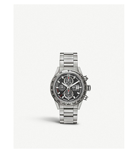 TAG HEUER CAR208Z.BF0719 Carrera titanium chronograph watch