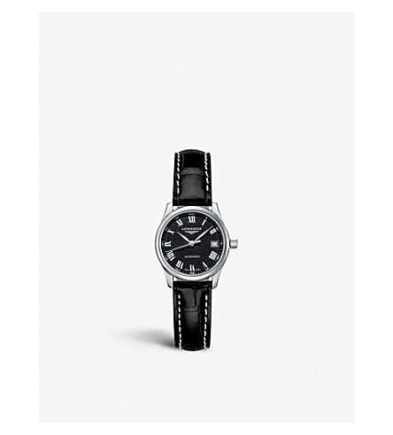 LONGINES L2.128.4.51.7 名匠系列不锈钢真皮腕表