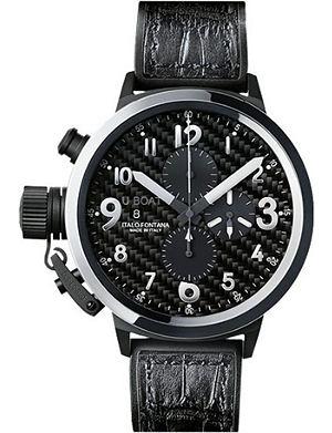 U-BOAT 7118 Flightdeck stainless steel watch