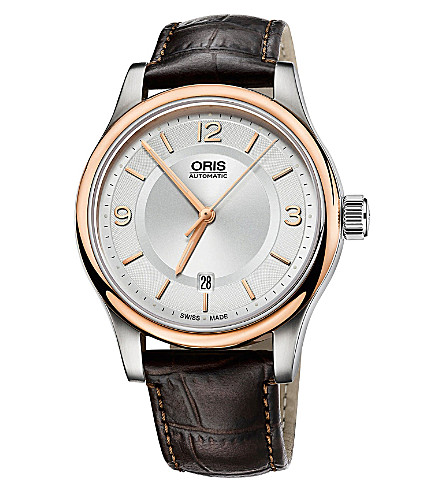 ORIS 73375944331ls stainless steel watch