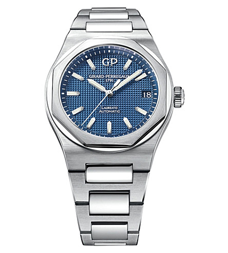GIRARD-PERREGAUX 81010-11-431-11A Laureato stainless steel watch
