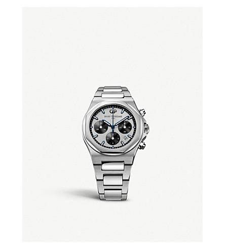 GIRARD-PERREGAUX 81020-11-131-11A Laureato 计时钢腕表