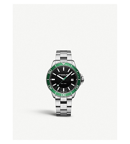RAYMOND WEIL 8260ST7-20001 探戈潜水员不锈钢腕表
