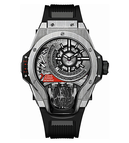 HUBLOT Tourbillon Bi-Axis titanium watch