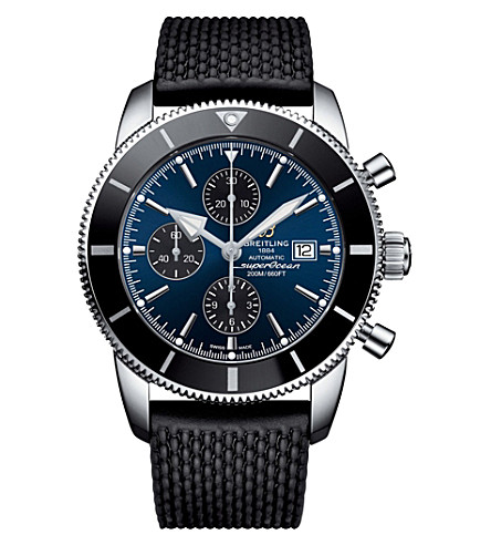 BREITLING A1331212/C968.267S Superocean Héritage Chronographe stainless steel and ceramic watch