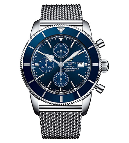 BREITLING A1331216/C963.152A Superocean Héritage Chronographe stainless steel watch