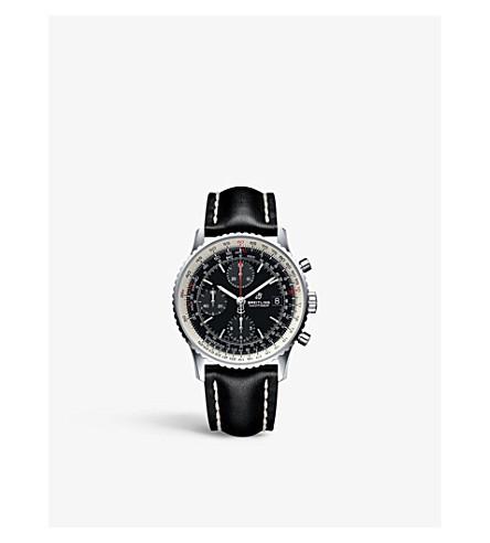 BREITLING A13324121B1X1 Navitimer 1 计时钢和皮革手表