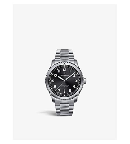 BREITLING A17314101B1A1 Navitimer 8 steel watch