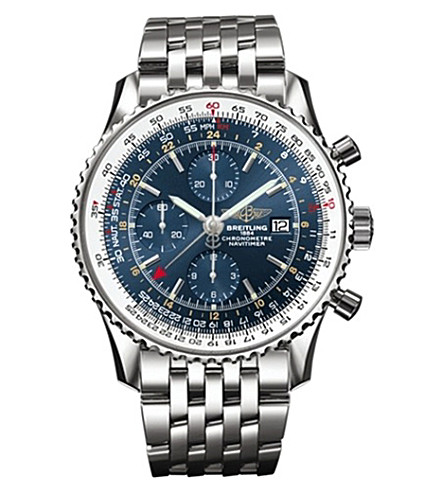 BREITLING A2432212/C651 443A Navitimer stainless steel watch