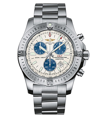 BREITLING A7338811/G790-173A breitling colt stainless steel quartz watch