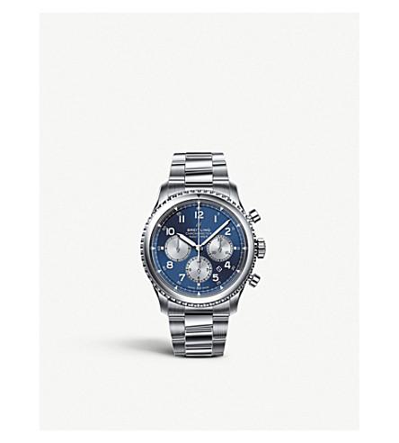 BREITLING AB0117131B1A1 Navitimer 8 BO1 chronograph 43 steel watch