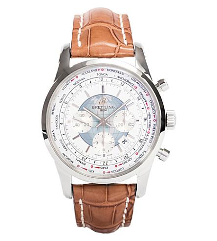 BREITLING AB0510U0/A732 754P Transocean Unitime watch