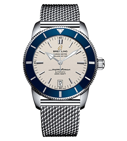 BREITLNG AB201016/G827.154A Superocean Heritage II 42 stainless steel watch