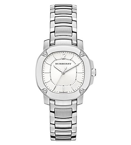 BURBERRY BBY1703 英国不锈钢手表 (银