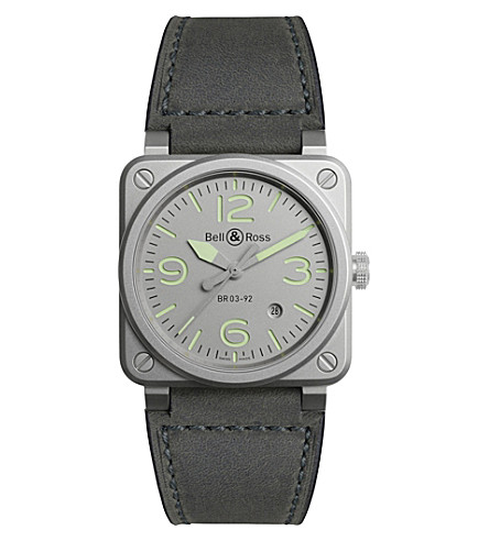 BELL & ROSS Horolum watch stainless steel watch