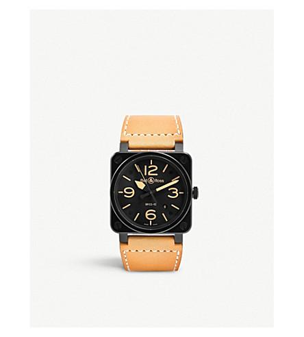 BELL & ROSS 航空遗产 BR0392 自动手表 (黑色