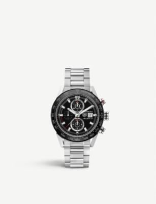 CAR201Z.BA0714 Carrera Calibre Heuer 01 stainless steel watch(7468265)