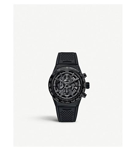 TAG HEUER CAR2A91.FT6071 Carrera titanium automatic chronograph watch