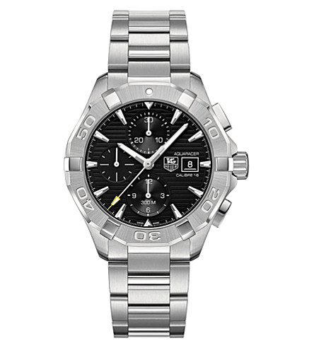 TAG HEUER CAY2110.BA0925 Aquaracer stainless steel watch (Black