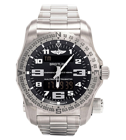 BREITLING E76325G1/BC02/159E Emergency titanium watch