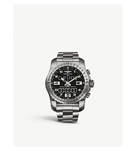 BREITLING EB501022/BD40 176E Professional Cockpit titanium watch