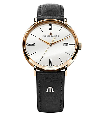 MAURICE LACROIX Eliros el1087-pvp01-110 gold-plated PVD watch (White
