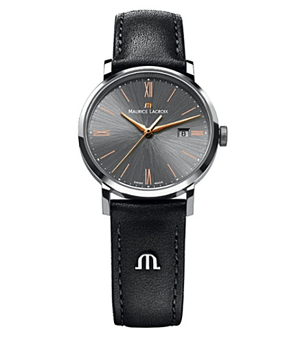 MAURICE LACROIX Eliros el1087-ss001-811 stainless steel watch (Black