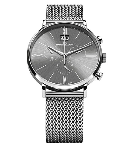 MAURICE LACROIX EL1088-SS002-810 Eliros stainless steel watch (Grey