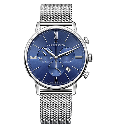 MAURICE LACROIX EL1088-SS002-410 Eliros chronograph stainless steel watch