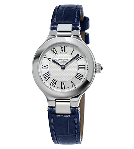 FREDERIQUE CONSTANT Fc-200m1er36 Classics Delight stainless steel watch (White