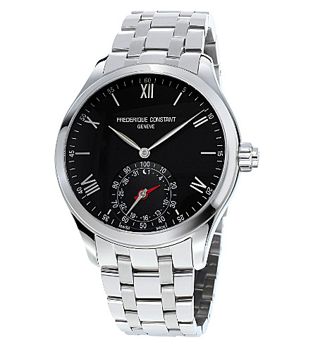 FREDERIQUE CONSTANT Fc-285b5b6b Horological Smartwatch stainless steel watch (Black