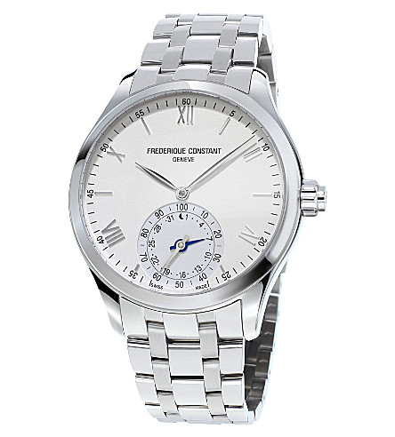 FREDERIQUE CONSTANT Fc-285s5b6b Horological Smartwatch stainless steel watch (Silver