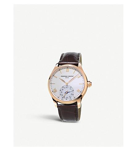 FREDERIQUE CONSTANT Fc-285v5b4 钟表 Smartwatch 不锈钢手表 (银