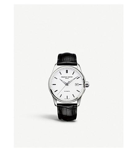 FREDERIQUE CONSTANT FC-303S5B6 指数薄不锈钢皮表带腕表 (白色