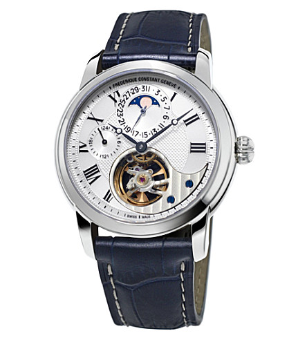 FREDERIQUE CONSTANT Fc-945mc4h6 Manufacture Heart Beat watch (White
