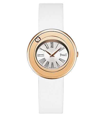 PIAGET Possession 18k rose-gold and satin watch
