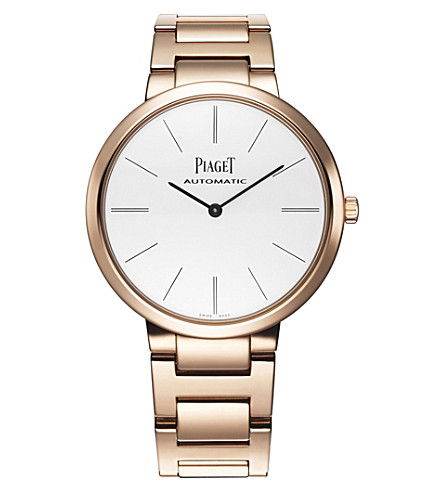 PIAGET G0A40113 Altiplano 18k rose-gold automatic watch
