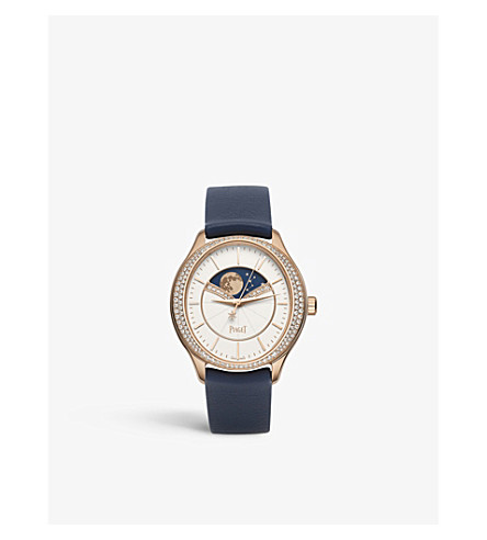 PIAGET G0A40110 Limelight Stella rose-gold and diamond watch