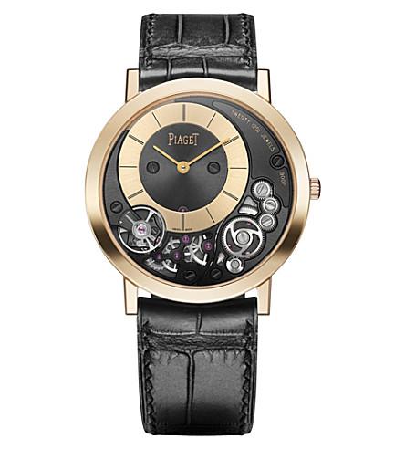PIAGET G0A41011 Altiplano rose-gold skeleton watch
