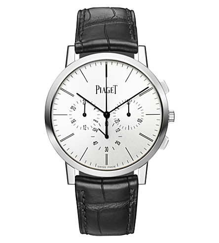 PIAGET G0A41035 Altiplano white-gold chronograph watch