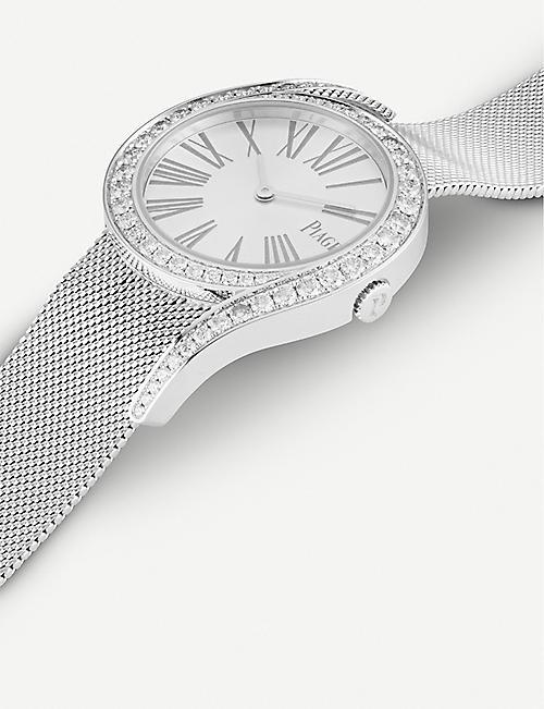 PIAGET Limelight Gala 18ct 白金和钻石手镯手表